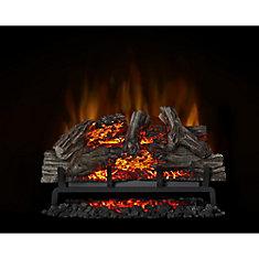 Surprising Woodland 27 Inch Electric Log Fireplace Insert Beutiful Home Inspiration Xortanetmahrainfo