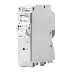 1-Pole 15A 120V AFCI Plug-on Circuit Breaker