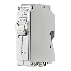 1-Pole 15A 120V GFPE Plug-on Circuit Breaker