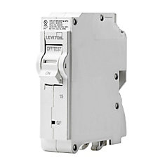 1-Pole 15A 120V GFCI Plug-on Circuit Breaker