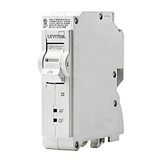 1-Pole 20A 120V AFCI/GFCI Plug-on Circuit Breaker