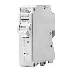 1-Pole 20A 120V GFCI Plug-on Circuit Breaker