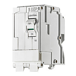 Leviton 2-Pole 100A 120/240V Plug-on Circuit Breaker