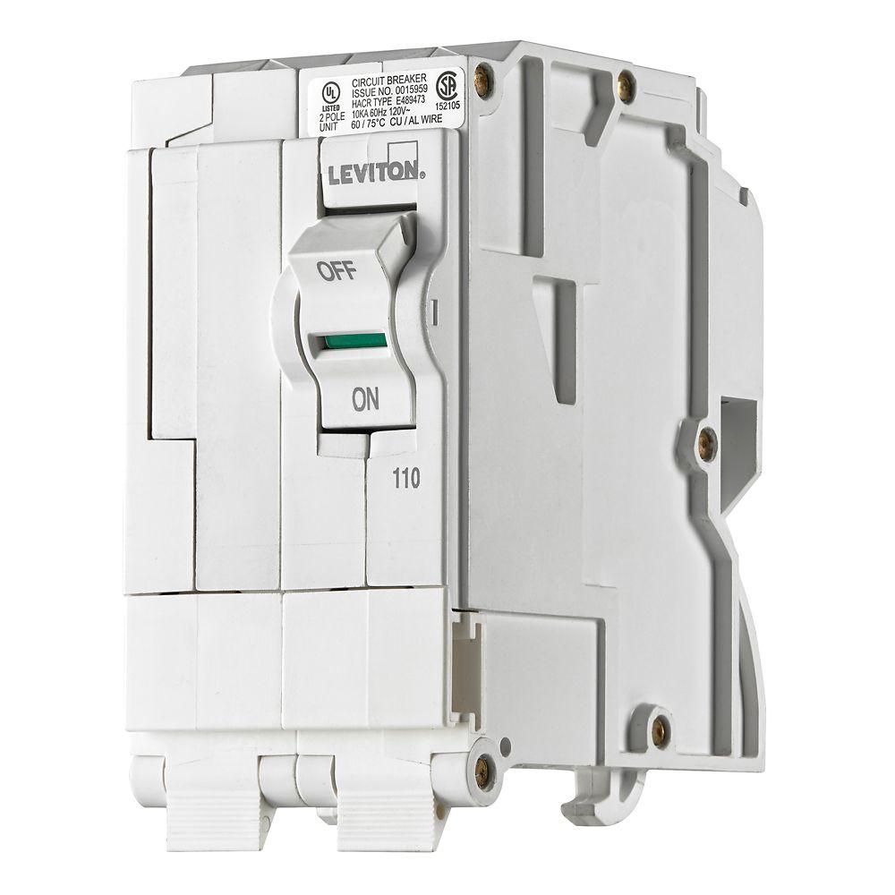 2-Pole 110A 120/240V Plug-on Circuit Breaker