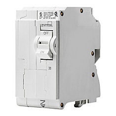 2-Pole 20A 120/240V Plug-on Circuit Breaker