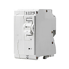 2-Pole 25A 120/240V GFCI Plug-on Circuit Breaker