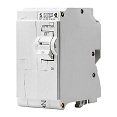 2-Pole 30A 120/240V Plug-on Circuit Breaker