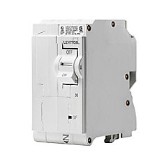 2-Pole 30A 120/240V GFCI Plug-on Circuit Breaker