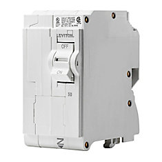 2-Pole 50A 120/240V Plug-on Circuit Breaker