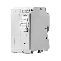 2-Pole 50A 120/240V GFPE Plug-on Circuit Breaker