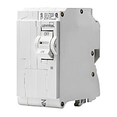 2-Pole 60A 120/240V Plug-on Circuit Breaker