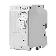 2-Pole 60A 120/240V GFPE Plug-on Circuit Breaker