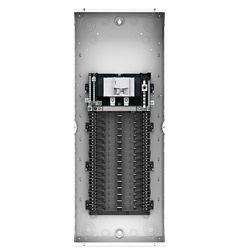 Leviton 100A 120/240V 30 Circuit 30 Espaces Panneau intérieur et porte-fenêtre avec disjoncteur principal