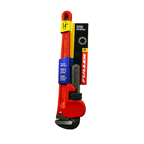 Pro Series Precision-Milled 14-inch Pipe Wrench