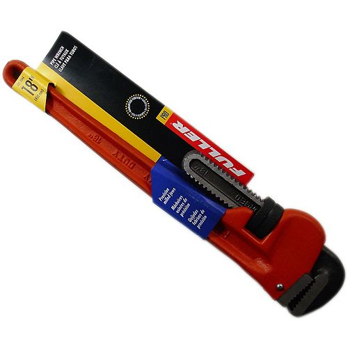Fuller Pro Series Precision-Milled 18-inch Pipe Wrench