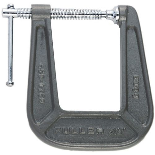 Fuller Pro Series 2-1/2-inch C-Clamp with Deep 4-3/8-inch Throat