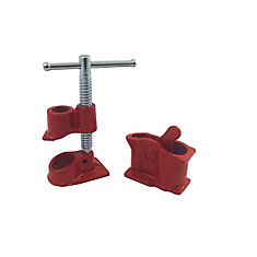 Gluing Clamp for 1/2-inch Threaded Pipe