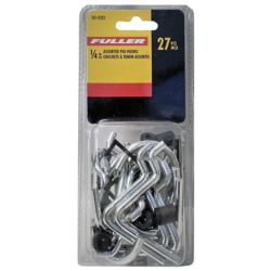 Fuller 1/4-inch Assorted Pegboard Hooks (27-Piece)