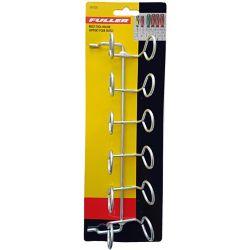 Fuller Porte-outils bon pour 6 pièces pour panneau perforé