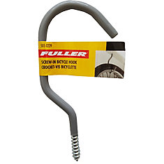 Sturdy Bicycle Hooks with a Protective Vinyl Coating