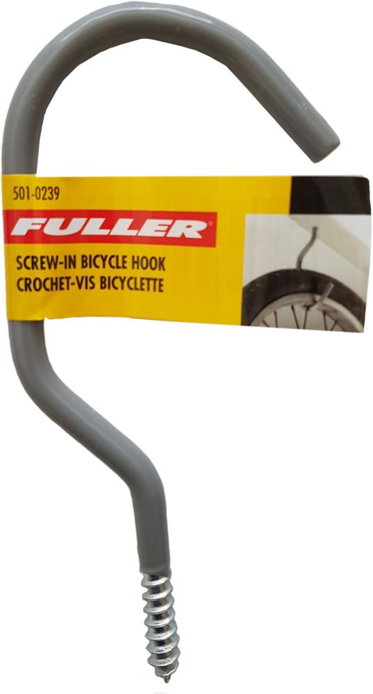 Fuller Sturdy Bicycle Hooks with a Protective Vinyl Coating