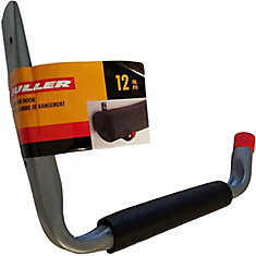 12-inch Jumbo Arm Hook with 50-Pound Weight Capacity