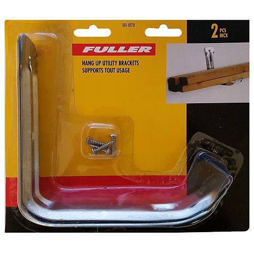 Fuller Multi Purpose Hang-Up Utility Bracket (2-Pack)