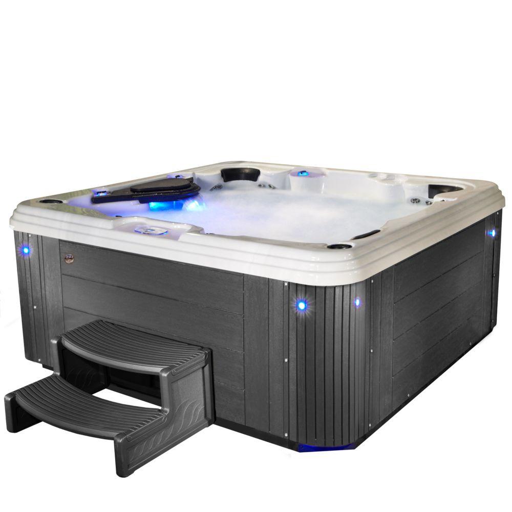 Aqualife Adulation 67 Jet Grey Acrylic Hot Tub 240V