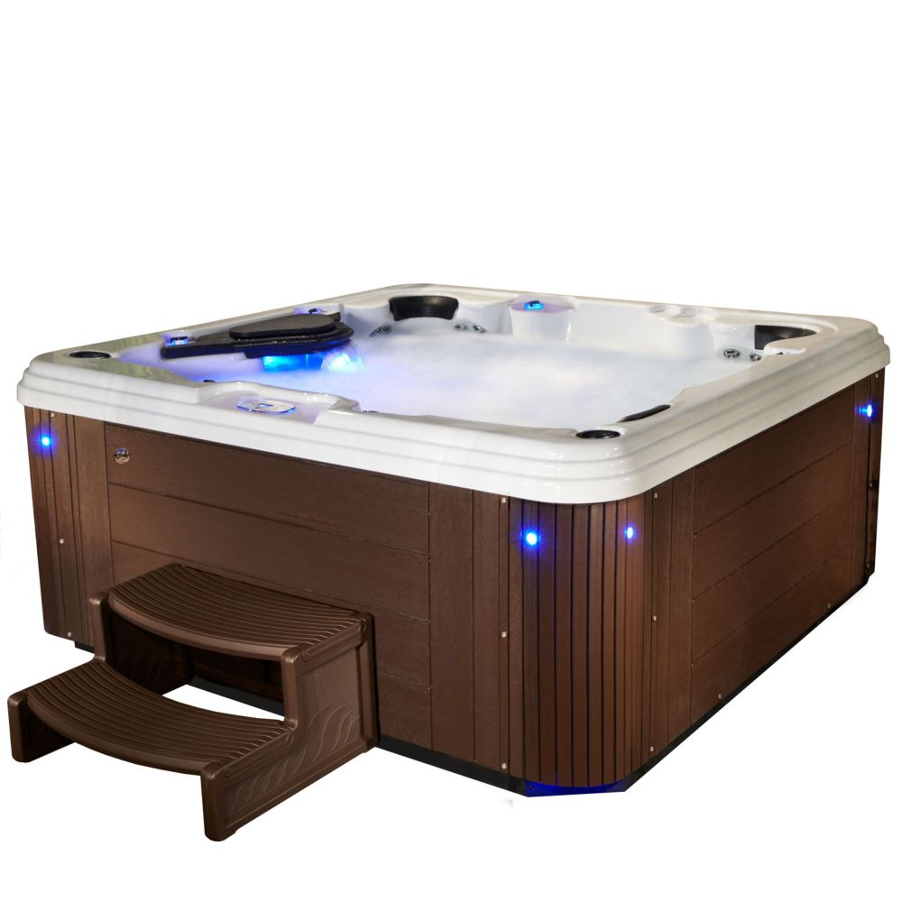 Aqualife Adulation 67 Jet Espresso Acrylic Hot Tub 240V