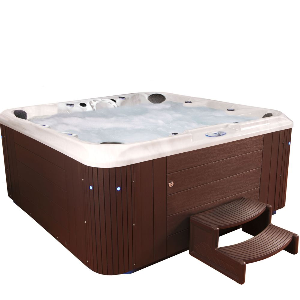 Aqualife Eminence 80 Jet Espresso Acrylic Hot Tub 240V