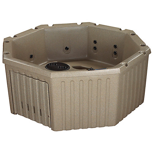 Retreat 11 Jet Cobblestone Standard Hot Tub PLUG & PLAY