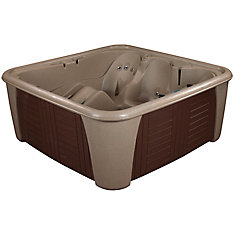 Harbor 24 Jet Cobblestone with Lounger Standard Hot Tub PLUG & PLAY