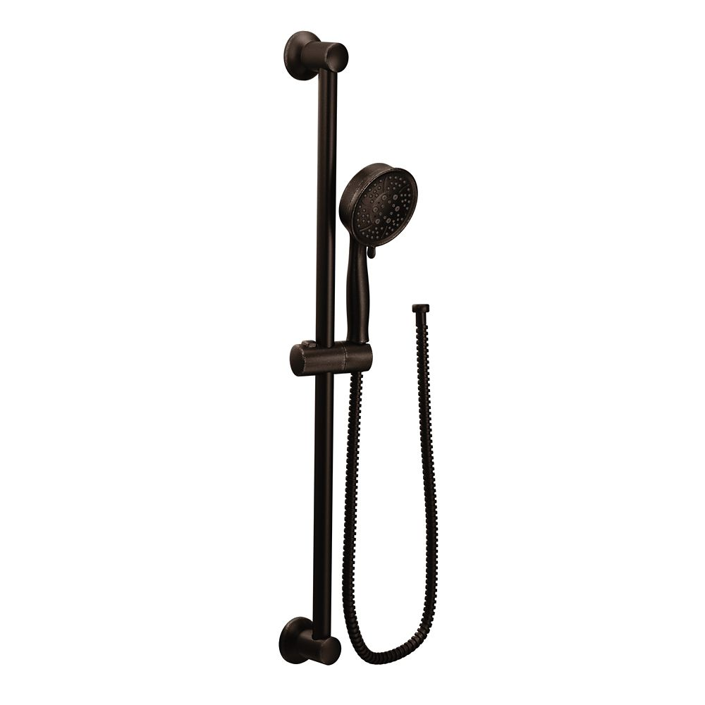 4-Spray Eco-Performance Handshower With Slide Bar In Oil Rubbed Bronze