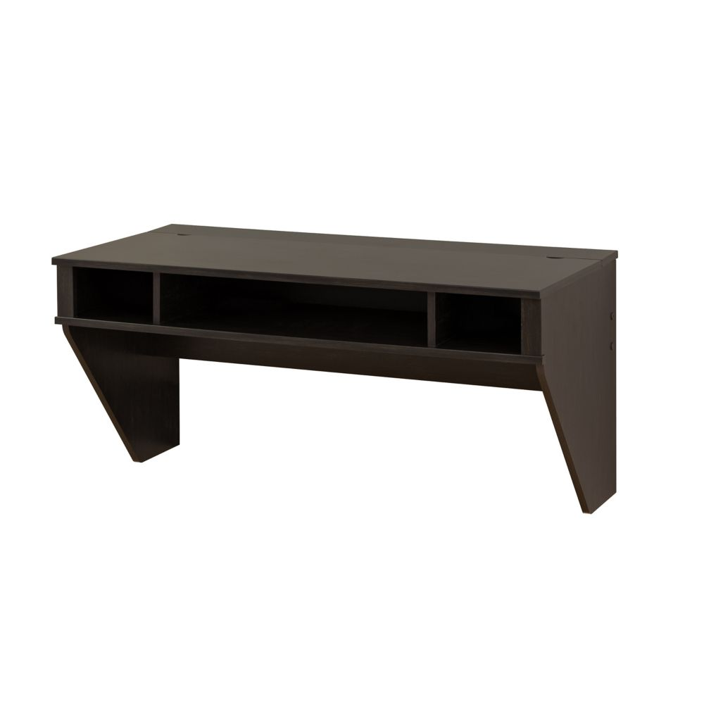 Stylish Designer Floating Desk-Black