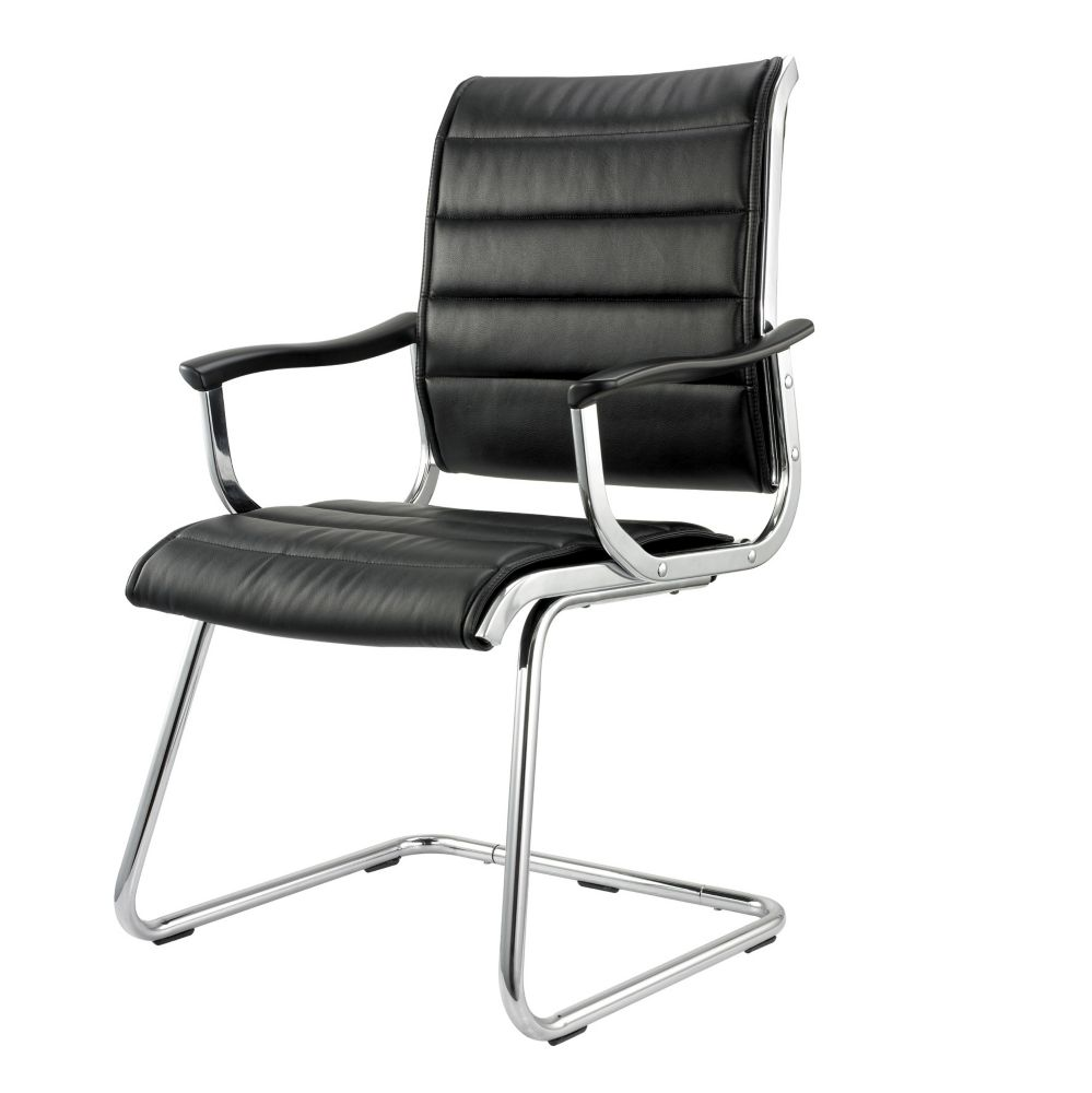 Mid Back Bonded Leather Office Chair