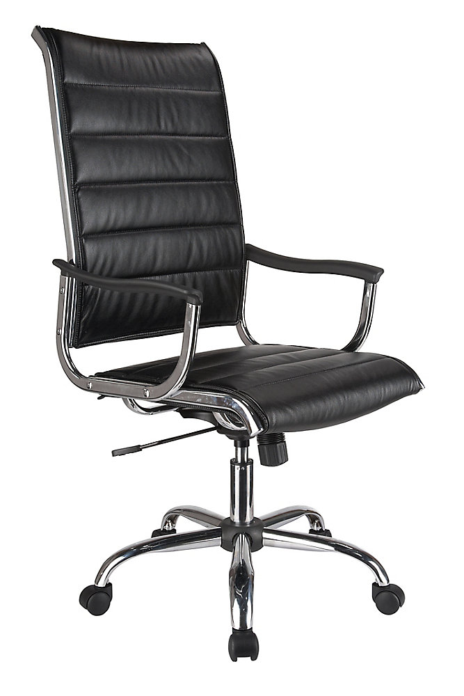 High Back Bonded Leather Office Chair