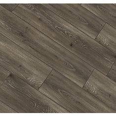 Aged Gunmetal Oak 12 mm Thick x8.03-inch Wide x47.61-inch Long Laminate Flooring(15.94 sq.ft./case)