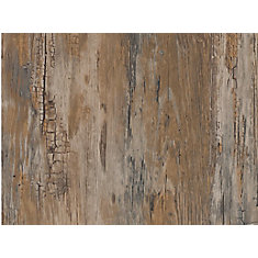 346-0478 Home Décor Self Adhesive Film 17-inch x 78-inch Rustic - 2 Pack
