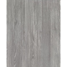 346-0587 Home Décor Self Adhesive Film 17-inch x 78-inch Oak Sheffield Pearl Grey - 2 Pack
