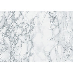 D-C-Fix 346-8306 Home Decor Self Adhesive Film 26-inch x 78-inch Marble Grey