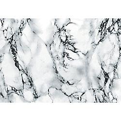 D-C-Fix 346-8031 Home Decor Self Adhesive Film 26-inch x 78-inch Marble White