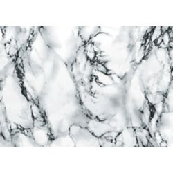 D-C-Fix 346-0047 Home Decor Self Adhesive Film 17-inch x 78-inch Marble White - (2-Pack)