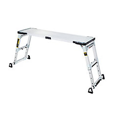 Adjustable Height Aluminum Work Platform