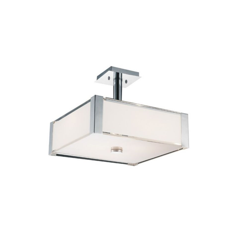 Lucie 14 inch 3 Light Mini Pendant with Chrome Finish