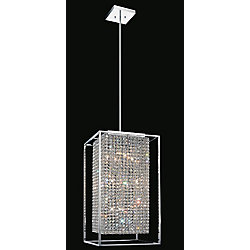 CWI Lighting Cube 14 inch 11 Light Mini Pendant with Chrome Finish