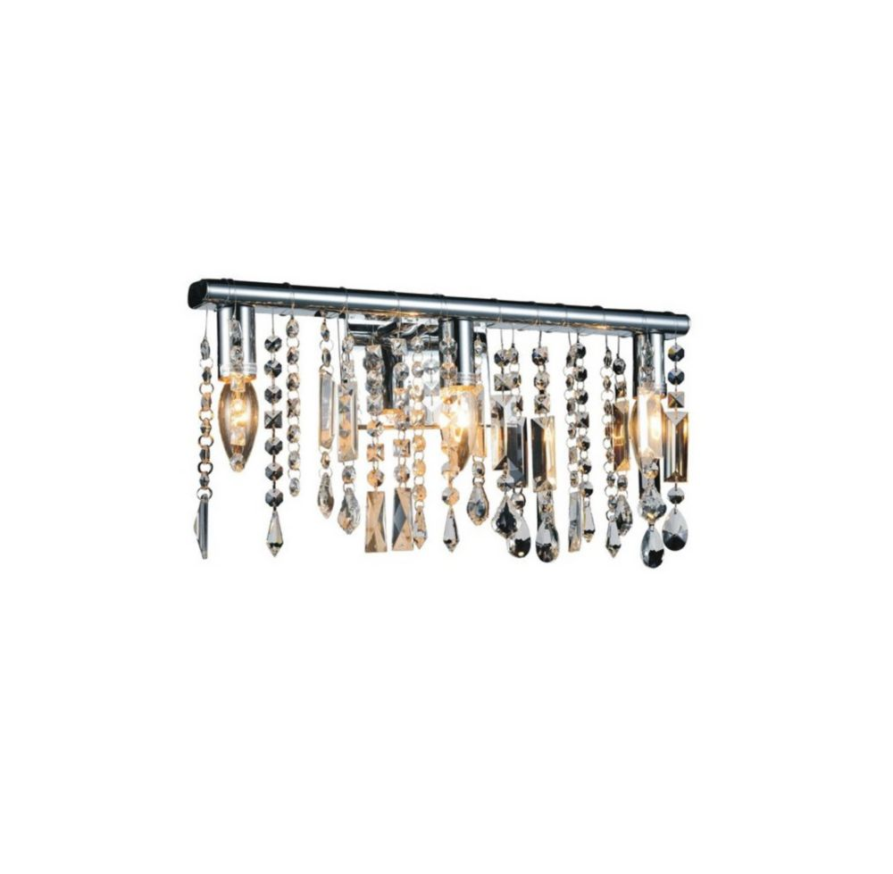 Janine 10 inch 2 Light Wall Sconce with Chrome Finish