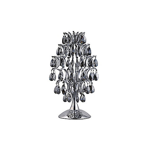 Charismatic 9-inch 3 Light Table Lamp with Chrome Finish