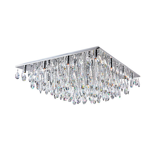 Bianca 32 inch 20 Light Flush Mount with Chrome Finish