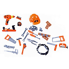Deluxe Toy Tool Set (44-Piece)