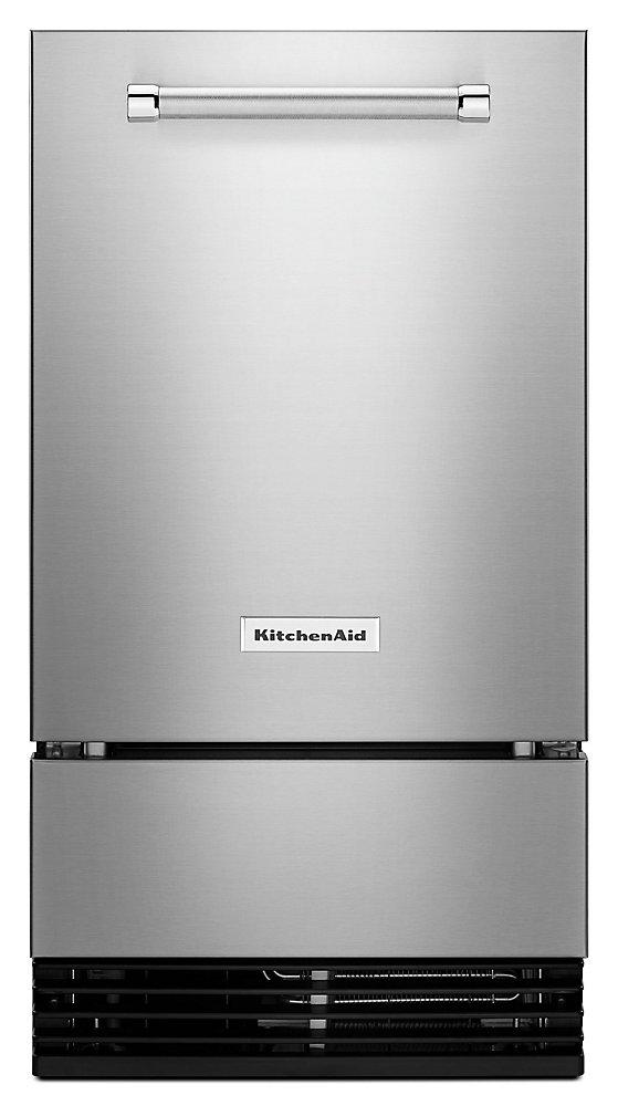 Machine à glaçons automatique 18 pouces 35 lb. en PrintShield Acier inoxydable